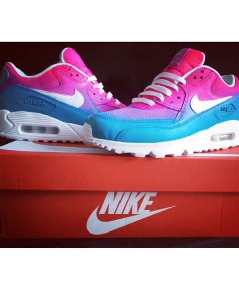 Nike Air Max 90 Whitepinkblue P 1441 by Nike Air Max 90 Randy Pink Blue White Candy18911 163 50