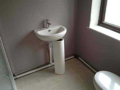 Installing A New Kitchen Faucet by How To Fit Bathroom Sink Waste Pipe Sinks Ideas