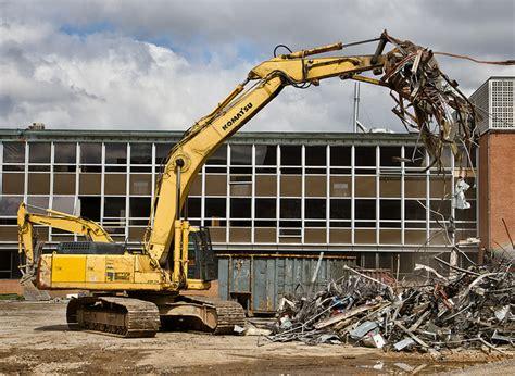 house demolition companies demolition contractors swansea