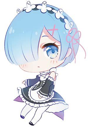 Kaos Rem Chibi Re Zero Hobiku Anime Store free rem pagedoll by rimuu on deviantart