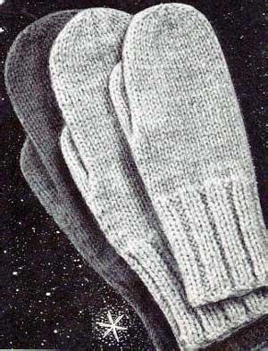 free easy knitting mittens patterns for 2 needles knitting gloves patterns 1000 free patterns