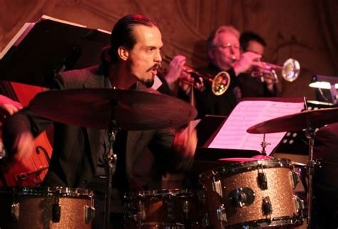 shout section big band big band jazz revives memories of another era in berwyn