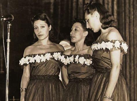 canzone swing il trio lescano in via verdi cantavano le ragazze dello swing