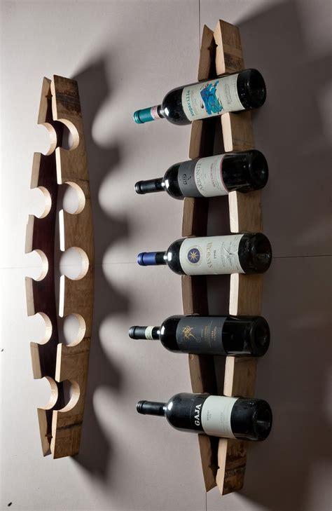 porta bottiglie porta bottiglie da parete con doghe