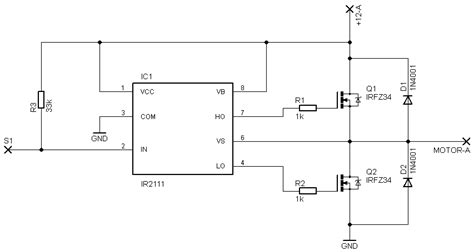 ir2101 bootstrap capacitor h bridge is a bootstrap capacitors always required for mosfet drivers electrical
