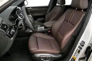 2015 bmw x4 xdrive35i front interior seats photo 7