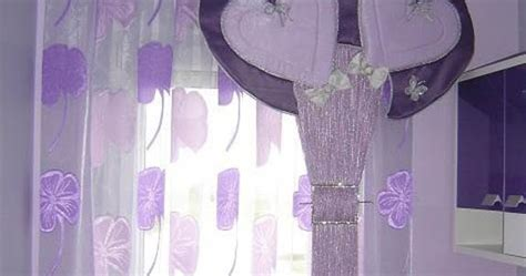 purple curtains for girls bedroom romantic purple curtain design for girls room heart