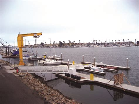 the boatyard oxnard timber service docks boatyard at channel islands