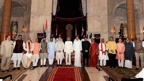 New Cabinet Of Narendra Modi by Merit Politics Pm Modi S New Team For New India