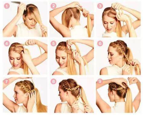 peinados con trenzas paso a paso l 1001 consejos