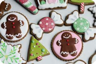 Gingerbread men decorated christmas cookies