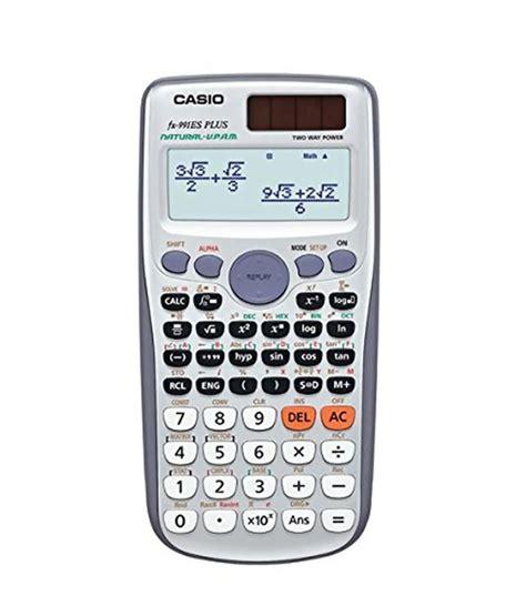 calculator online scientific casio scientific calculator fx 991es plus buy online at