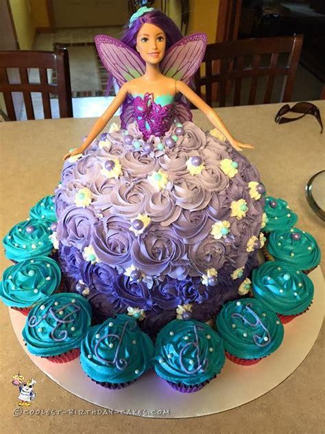 fairytale barbie doll cake birthdays barbie  bundt cakes
