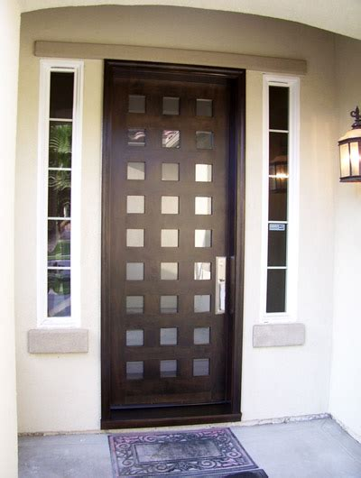 contemporary entry doors grand entrances san diego s finest custom entry doors