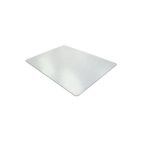 doortex pet recycled smooth backing desk mat clear fpde1722p