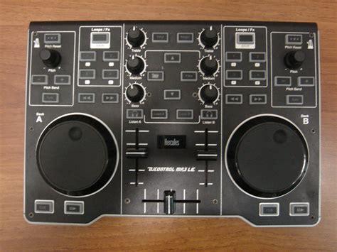 console dj usata hercules dj mp3 le console controller per dj usato