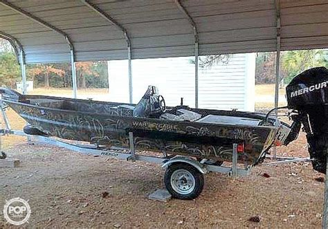 used war eagle boats for sale in sc 2014 used war eagle 648 aluminum fishing boat for sale