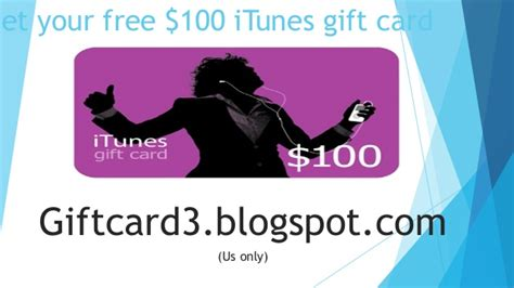 How To Get Free 100 Itunes Gift Card - get your free 100 itunes gift card 100 itunes gift card
