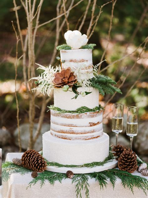 Winter Wedding Cakes by 20 Gorgeous Winter Wedding Cakes Southbound