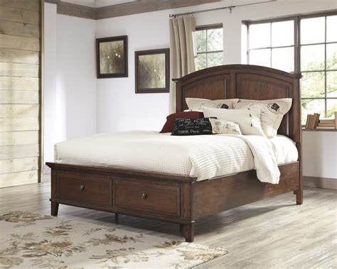 ashley king bed b565 58 ashley furniture burkesville king panel headboard