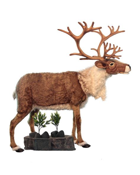 mark roberts animated talking singing life size reindeer