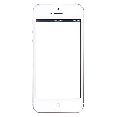 blank iphone template exc inc