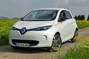 Renault Zoe 2017 Renault Zoe News Rumors Range Performance