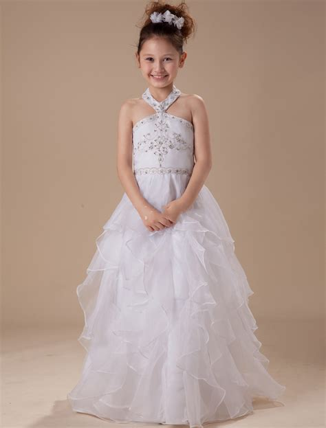 White Frock For Wedding by Wedding Dress Children Frock Design White Princess