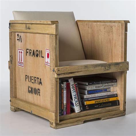 poltrone vintage design poltrona vintage in legno massello cassa cargo