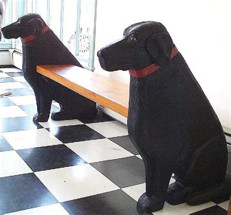 bench labrador black labrador bench eclectic indoor benches by