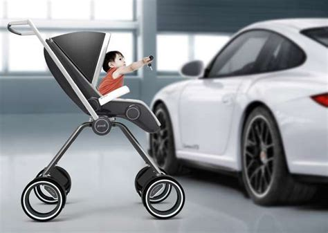 Porsche Design Stroller by Sports Car Strollers Porsche Design P4911
