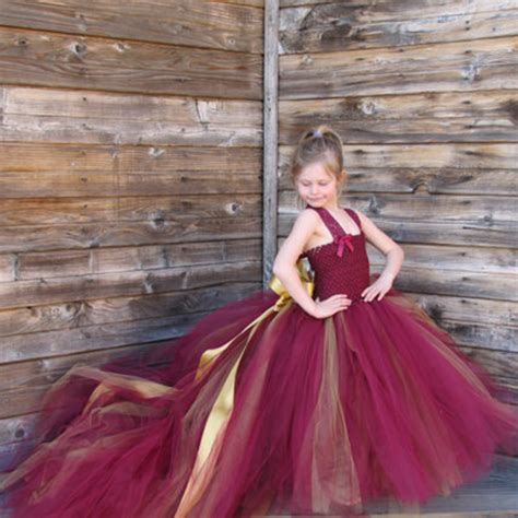 Dress Princess Kid Maroon Mint burgundy flower dresses with tulle princess lace prom dress for wedding