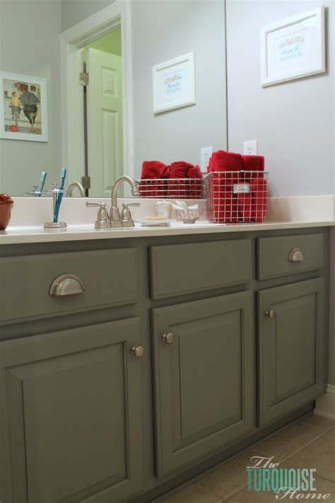 how do you paint bathroom cabinets 5 ways to update a bathroom on a budget jenna burger