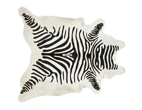 Black And White Zebra Cowhide Rug Black On White Zebra Cowhide Stencil Rug Moss Manor