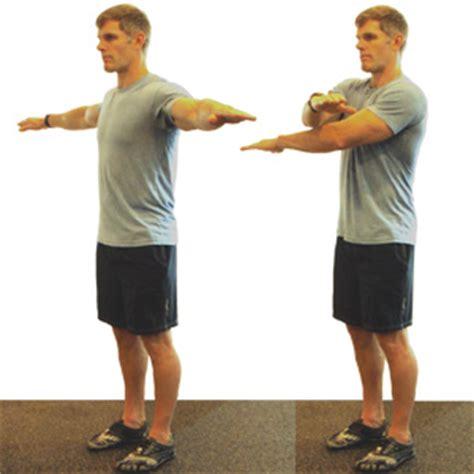 arm swing webefit com dynamic warmup arm swings front