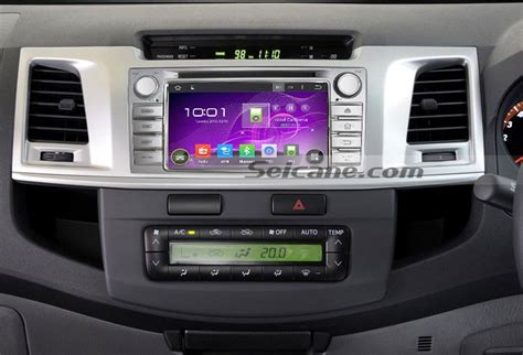 Headl Kanan Hilux 2016 Original how to install a 2012 toyota hilux unit with android