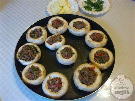 kis dolmasi en hizli tarifler pratik ve kolay yemek tarifleri kıymalı kaşarlı mantar dolması