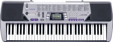 Keyboard Casio 6 Oktaf casio ctk 496 keyboard zzounds