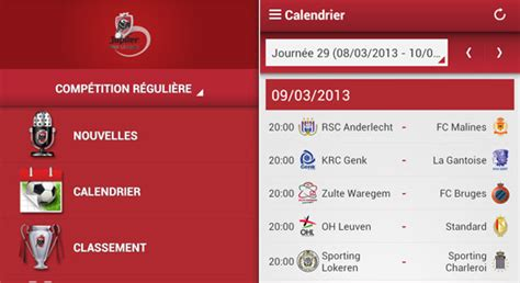 Calendrier Jupiler Pro League Quelques Liens Utiles