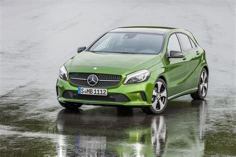 green mercedes a class 2016 mercedes a class gets updates a45 amg gains more