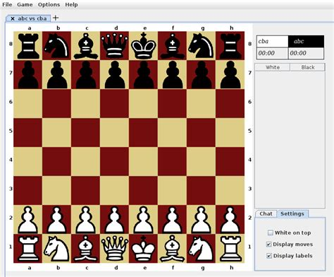 design game in java java open chess sourceforge net