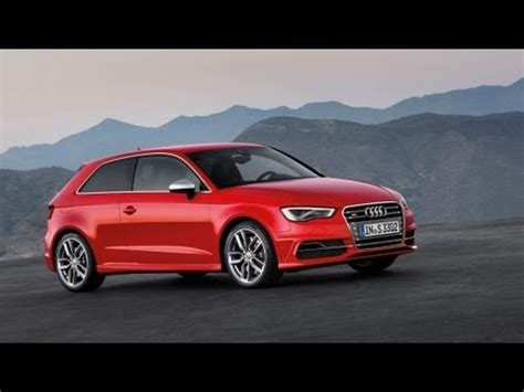 2015 Audi A3 S3 Sedan Debuts A3 Hatch Phev Confirmed For U S 2013 New York 2015 New Audi S3 Hatchback Exterior And Interior Design Hd