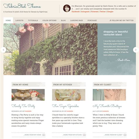 wordpress themes girly fabric8ted girly blog wordpress theme wpexplorer