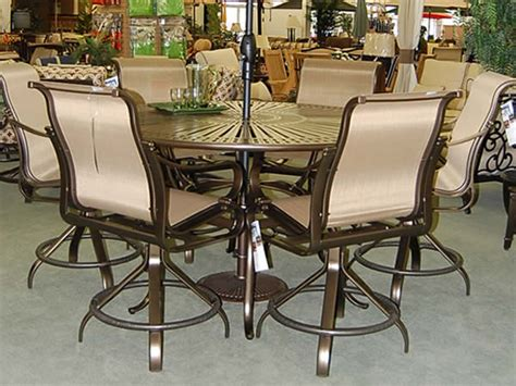 Bar Height Patio Furniture Set Bar Height Patio Dining Sets Patio Design Ideas