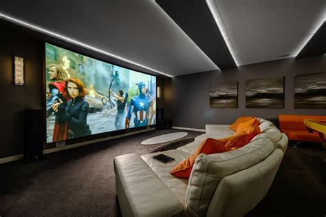 Home Theatre Design Vancouver Dwell On Despard Contemporary Home Theater Vancouver