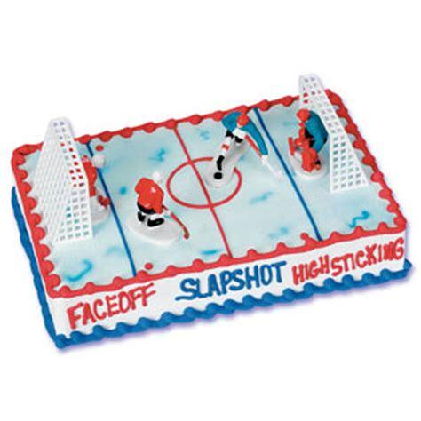 Hockey Cake Decorations bakery crafts hockey cake kit