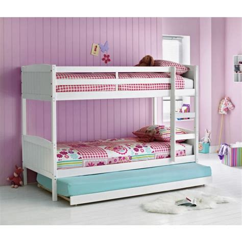 bunk bed argos buy home detachable single bunk bed frame with trundle