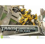 Transformers  Universal Studios Singapore Editorial Stock