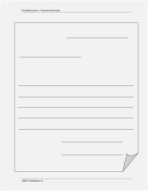 Blank Letter Format Thepizzashop Co Blank Letter Template