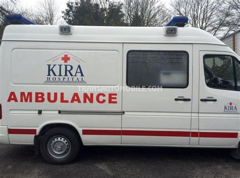 mercedes 316 sprinter ambulances occasion ref 1756